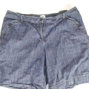 Women's Just My Size Jean Shorts.Sz20W.O14